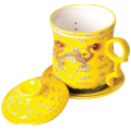 Чашка с Колбой Желтый Дракон