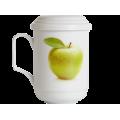 Чашка с Колбой Яблоко
